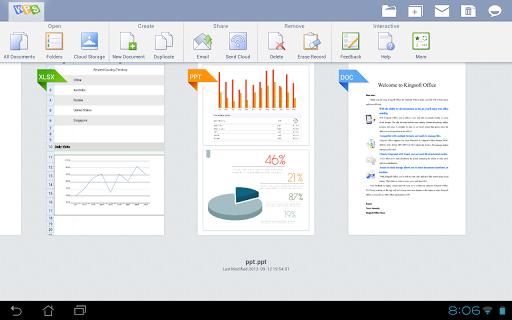 دانلود WPS Office 10.3.3 ویرایش فایلهای آفیس و PDF اندروید 2