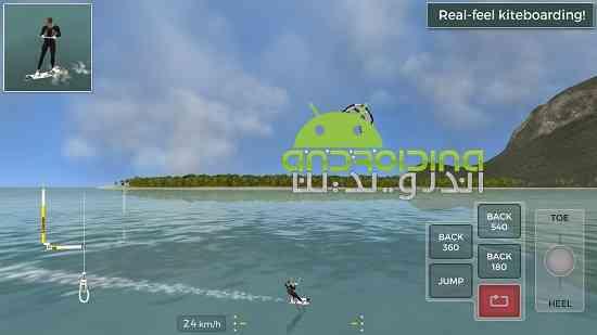 Kiteboard Hero - بازی ورزشی قهرمان کیتبورد