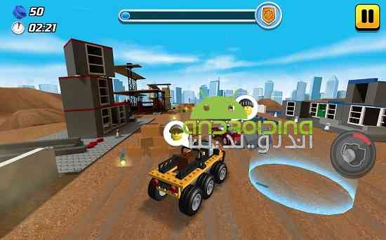 LEGO® City game – new Mining vehicles! - بازی اکشن لگو شهر مسابقه