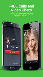 دانلود LINE: Free Calls & Messages 4.6.1 برنامه لاین