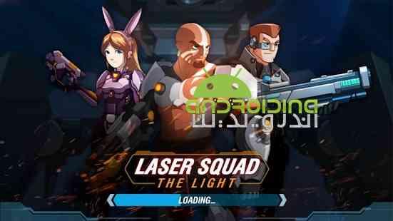 Laser Squad: The Light - بازی اکشن تیم لیزری: روشنایی