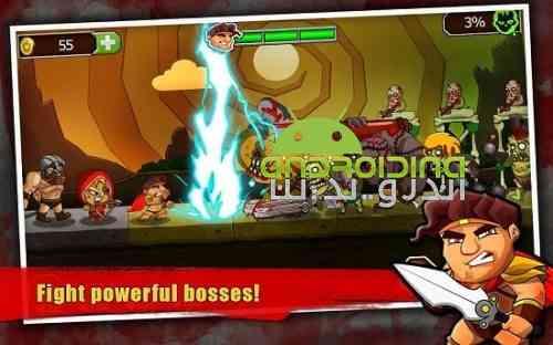 Legend vs Zombies - بازی اکشن افسانه در برابر زامبی