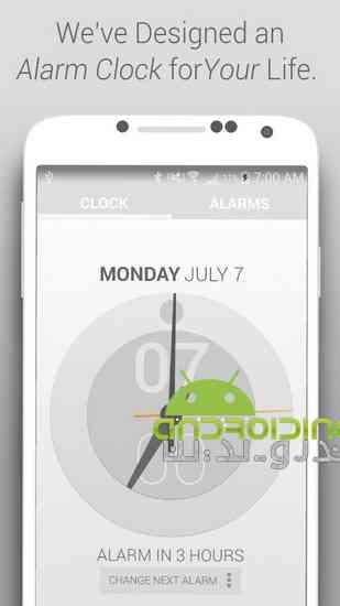 دانلود Life Time Alarm Clock Premium 2.9lt نرم افزار ساعت آلارم دار برای اندروید 1