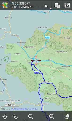 آموزش اجرای نقشه های گوگل به صورت  برنامه نقشه آفلاین بایگانی
