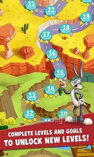دانلود Looney Tunes Dash 1.89.07 بازی لونی تونز : سرعت اندروید 1