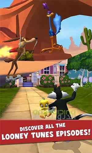 دانلود Looney Tunes Dash 1.89.07 بازی لونی تونز : سرعت اندروید 3
