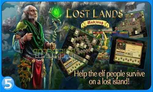Lost Lands Mahjong - بازی سرزمین های گمشده