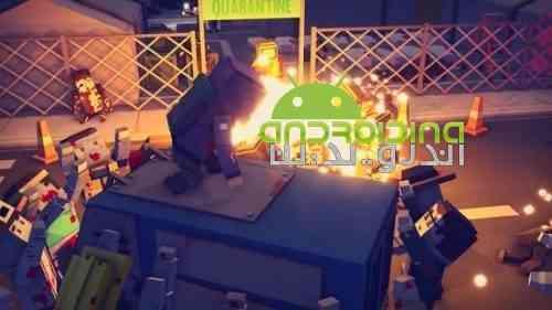 Lost city of zombies: Fight for survival - بازی شهر زامبی از دست رفته: نبرد برای بقاء