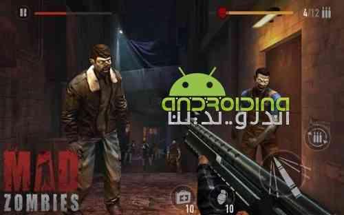MAD ZOMBIES: Offline Zombie Games - بازی اکشن زامبی دیوانه: بازی آفلاین زامبی
