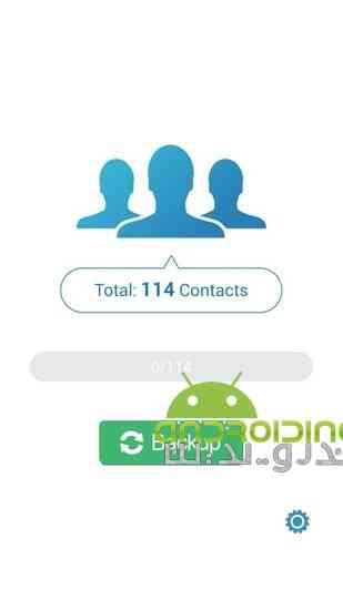 دانلود MCBackup – My Contacts Backup 2.1.4 پشتیبان گیری از مخاطبین در اندروید 3