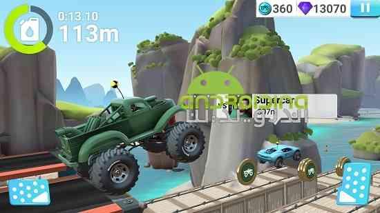MMX Hill Dash 2 - بازی تپه های پر حرارت 2