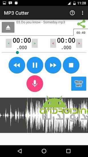 دانلود MP3 Cutter Pro 3.8.1 برش فایل های MP3 در اندروید 1