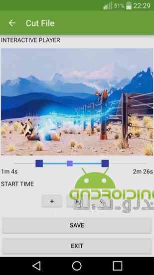 MP3 Video Converter Pro  تبدیل فایل های تصویری به صوتی در اندروید