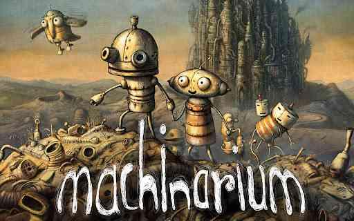 Machinarium | ادم اهنی کوچک در میان معماها