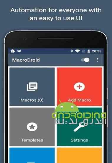 دانلود MacroDroid – Device Automation 3.18.14 نرم افزار انجام خودکار کارها در اندروید 1