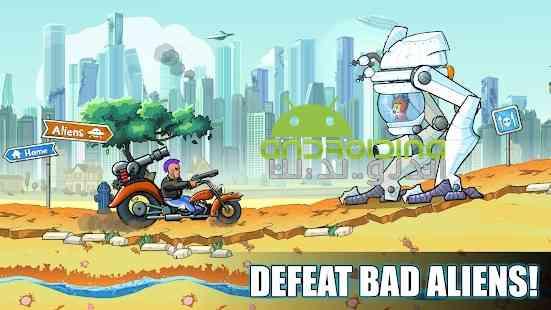 Mad Day – Truck Distance Game - بازی دیوانه - مسیر کامیون