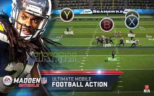 Madden NFL Mobile – راگبی بازان دیوانه اندروید
