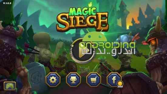 Magic Siege – Defender - بازی استراتژی محاصره جادویی - مدافع