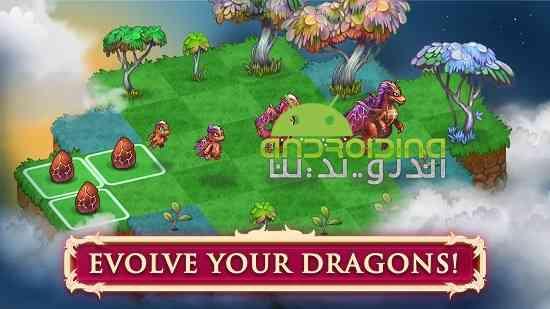 دانلود Merge Dragons! 1.9.2 بازی پازلی ترکیب اژدها اندروید 2