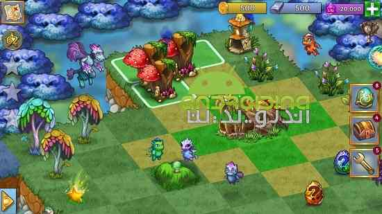 دانلود Merge Dragons! 1.9.2 بازی پازلی ترکیب اژدها اندروید 4