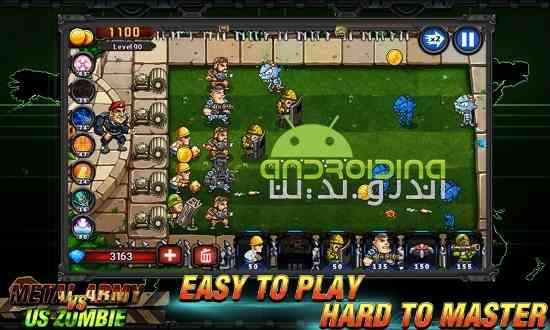 دانلود Metal Army vs US Zombie 2.0.1.2 بازی ارتش فلزی در برابر زامبی ها اندروید 2
