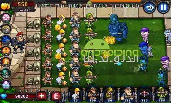 دانلود Metal Army vs US Zombie 2.0.1.2 بازی ارتش فلزی در برابر زامبی ها اندروید 4