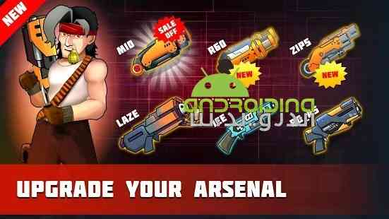 Metal Strike War: Gun Solider Shooting Games - بازی اکشن جنگ ضربات فلزی