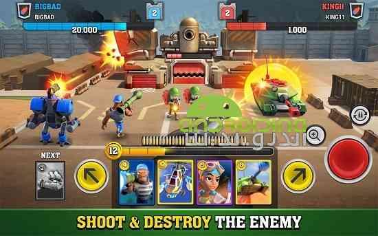 Mighty Battles - بازی جنگ های بزرگ و قوی