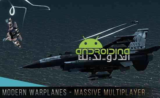 دانلود Modern Warplanes 1.5 بازی هواپیماهای جنگی مدرن اندروید 2