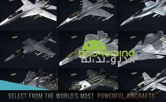 دانلود Modern Warplanes 1.5 بازی هواپیماهای جنگی مدرن اندروید 3