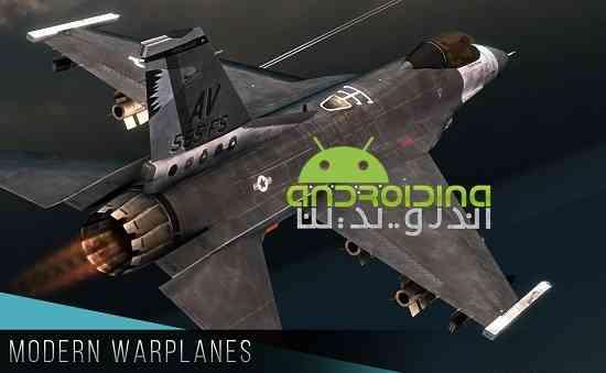 Modern Warplanes - بازی هواپیماهای جنگی مدرن