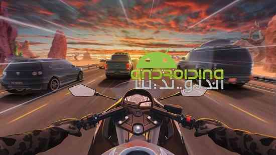 Motorcycle Rider - بازی مسابقه ای موتورسیکلت سوار