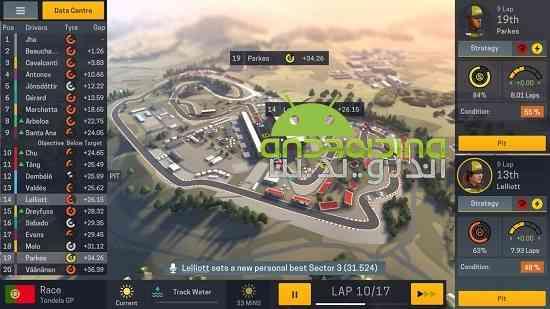 دانلود Motorsport Manager Mobile 2 v1.1.0 بازی مدیریت ماشین های مسابقه اندروید 1