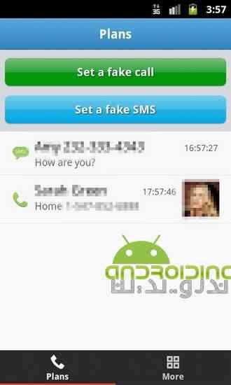دانلود Mr Caller (Fake Call&SMS) 1.4.0 برنامه تماس و پیام جعلی در اندروید 1