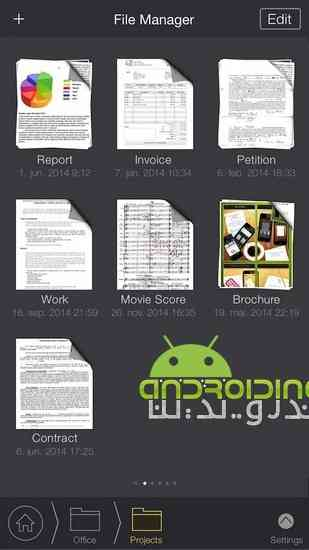 دانلود My Scans PRO – PDF Scanner 3.2.3 برنامه اسکن اسناد برای اندروید 3