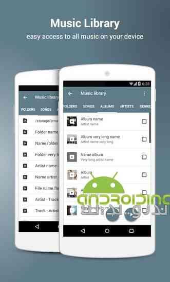 دانلود NRGplayer music player 2.3.1 موزیک پلیر حرفه ای برای اندروید 4
