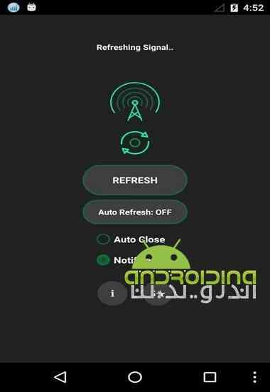 دانلود Network Signal Refresher Pro 9.0.1p نرم افزار تازه سازی سیگنال شبکه برای اندروید 3