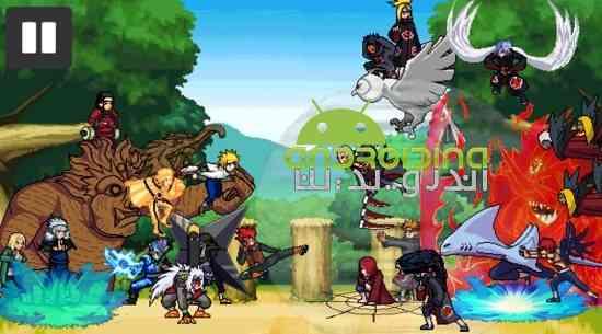 Ninja war 4 - بازی ماجراجویی سرگرم کننده جنگ نینجا 4