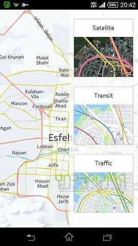 دانلود Here WeGo Offline Maps 2.0.11539 نوکیا مپ اندروید 1