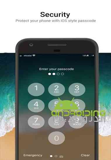 OS 11 Locker - Keypad Lock Screen