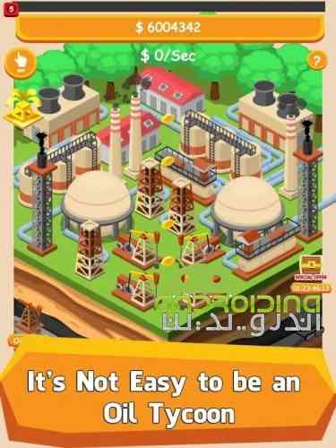 Oil Tycoon – Idle Clicker Game - بازی سرمایه داران نفت - کلیکی