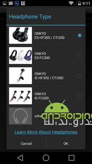 دانلود Onkyo HF Player Full 1.3.3 پلیر حرفه ای و قدرتمند برای اندروید 4