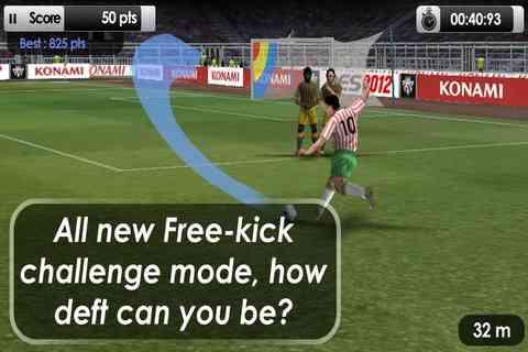 دانلود PES 2012 Pro Evolution Soccer 1.0.5 لیگ حرفه ای فوتبال 2012 2