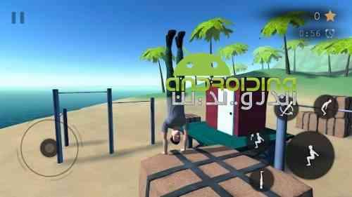 Parkour Flight 2 - بازی سرگرم کننده مبارز پارکورکار