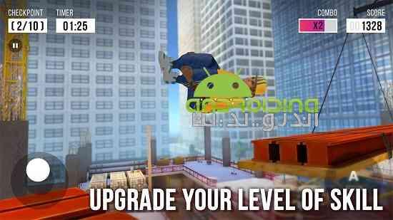 Parkour Simulator 3D - بازی ورزشی شبیه ساز پارکور