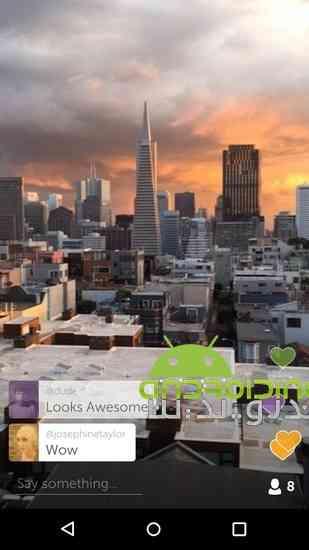 Periscope - Live Video | پخش و اشتراک گذاری زنده ویدئو در اندروید