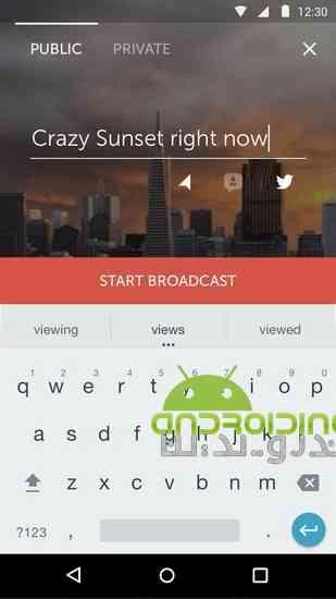 دانلود 1.8.4 Periscope – Live Video پخش و اشتراک گذاری زنده ویدئوها در اندروید 4