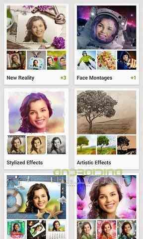 تصویر 3دانلود نرم افزار ایجاد افکت های زیبا مخصوص اندروید