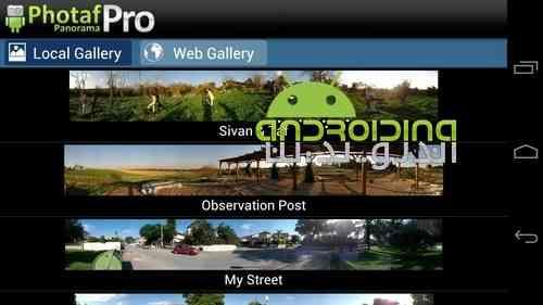 دانلود Photaf Panorama Pro 3.2.8 ساخت تصاویر پاناروما در اندروید 3