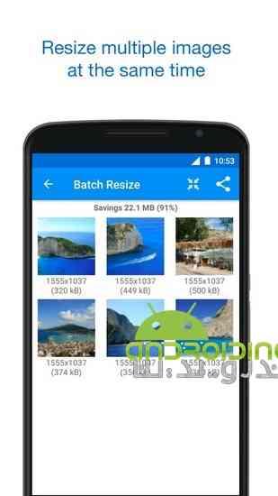 دانلود Photo & Picture Resizer Premium 1.0.141 تغییر سایز تصاویر در اندروید 1